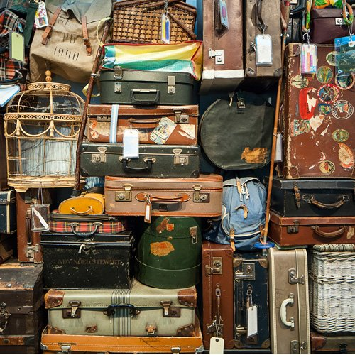 Luggage Mishaps and Visitors