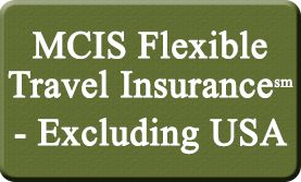 MCIS Flexible Travel Insurance - Excluding USA